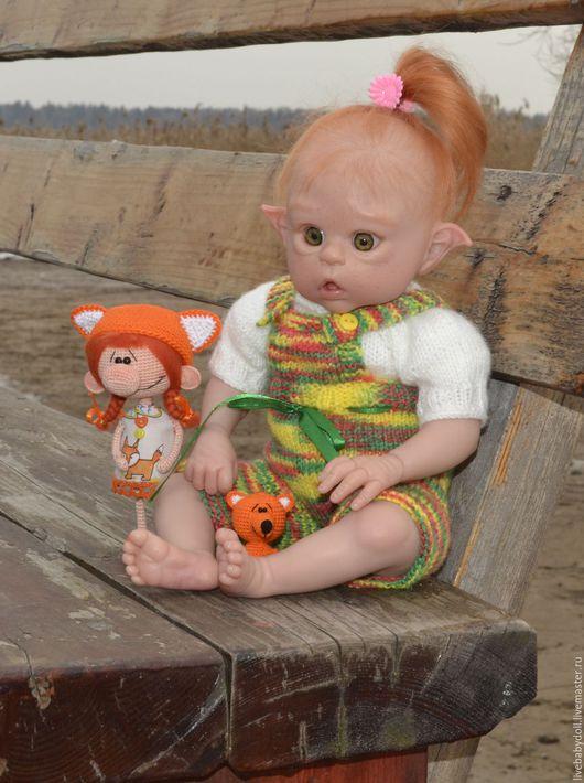 Куклы-младенцы и reborn ручной работы. Ярмарка Мастеров - ручная работа. Купить Кукла реборн мини Офелия. Handmade. Реборн