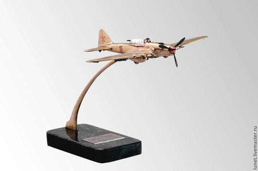 Подарки для мужчин, ручной работы. Ярмарка Мастеров - ручная работа. Купить ИЛ-2  советский штурмовик 1941 — 1945. Handmade.