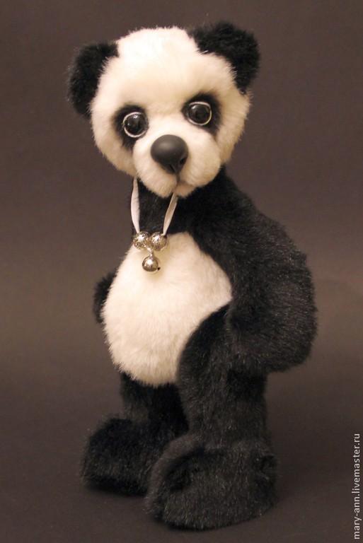 Мишки Тедди ручной работы. Ярмарка Мастеров - ручная работа. Купить Панда Akio (пер. с японского - Красавец). Handmade.