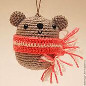Мягкие игрушки ручной работы. Ярмарка Мастеров - ручная работа Мишка коала подвеска. Handmade.