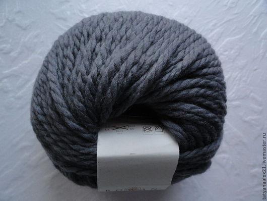 Вязание ручной работы. Ярмарка Мастеров - ручная работа. Купить Пряжа Rowan Big Wool № 056 Glum. Handmade.