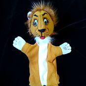 Куклы и игрушки handmade. Livemaster - original item Leo Leo. Glove puppets.. Handmade.