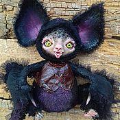 Куклы и игрушки ручной работы. Ярмарка Мастеров - ручная работа Летучая мышка Кармен. Handmade.