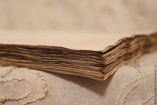Открытки и скрапбукинг ручной работы. Ярмарка Мастеров - ручная работа. Купить состаренная бумага (тонированная, винтажная). Handmade. Тонирование кофе