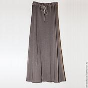 Одежда ручной работы. Ярмарка Мастеров - ручная работа Длинная юбка хаки. Handmade.