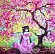 Picture of Sakura 'Melody of Eternal Spring' oil on canvas, Pictures, Voronezh,  Фото №1