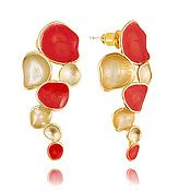 Украшения handmade. Livemaster - original item Coral jewelry feminine gifts