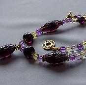 Украшения handmade. Livemaster - original item Magic night necklace with ametrine. Handmade.