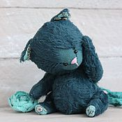Куклы и игрушки ручной работы. Ярмарка Мастеров - ручная работа Тедди кот ЧАРЛИ Котенок тедди. Handmade.