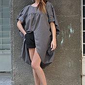 Одежда handmade. Livemaster - original item Elegant blouse made of cotton for summer - TP0494CT. Handmade.