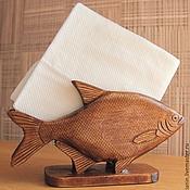 Сувениры и подарки ручной работы. Ярмарка Мастеров - ручная работа Салфетница в виде рыбки. Handmade.