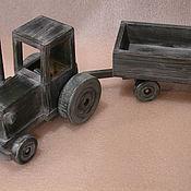 """Куклы и игрушки ручной работы. Ярмарка Мастеров - ручная работа трактор """"белорусь"""". Handmade."""