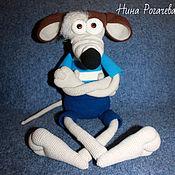 Куклы и игрушки handmade. Livemaster - original item Rats Boryusik. Rat knitted. Handmade.