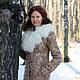 Верхняя одежда ручной работы. Валяное пальто-дублёнка. Регина (regita). Ярмарка Мастеров. Пальто, валяная одежда, зимняя одежда