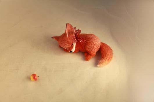 Игрушки животные, ручной работы. Ярмарка Мастеров - ручная работа. Купить Лисичка. Handmade. Рыжий, лиса, Валяние, авторская игрушка