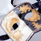 """Одежда ручной работы. Ярмарка Мастеров - ручная работа Венецианская карнавальная маска """"Баута"""". Handmade."""