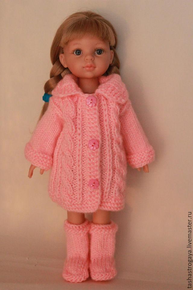 Вязанная одежда для кукол