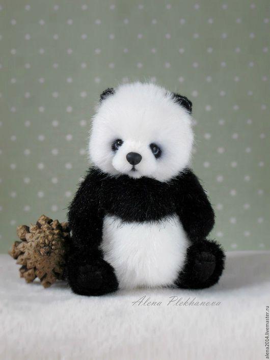 Мишки Тедди ручной работы. Ярмарка Мастеров - ручная работа. Купить Yuko. Handmade. Панда, тедди, подарок, немецкий плюш