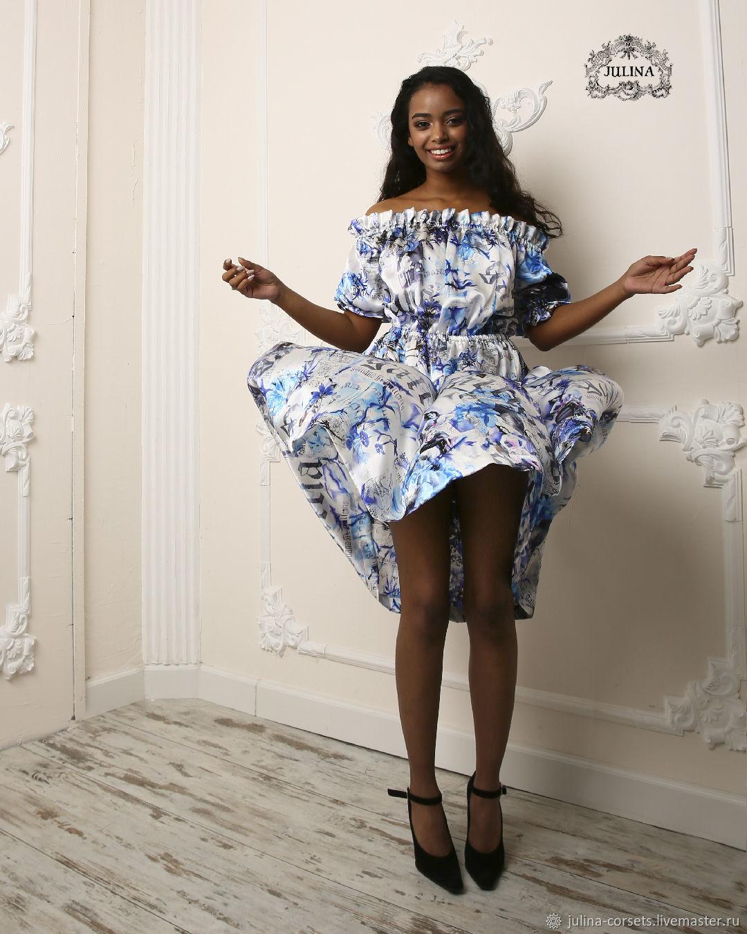 Платье из именного натурального  шелка John Galliano, Платья, Москва,  Фото №1