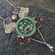 Украшения ручной работы. Ярмарка Мастеров - ручная работа Flora Кулон Art Nouveau. Handmade.