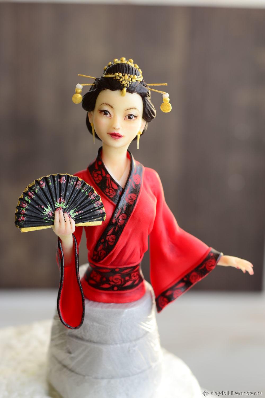 Китаянка. Кукла из полимерной глины, Куклы, Москва, Фото №1
