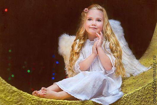 Карнавальные костюмы ручной работы. Ярмарка Мастеров - ручная работа. Купить рождественский ангел. Handmade. Белый, новогодний костюм, ангелочек