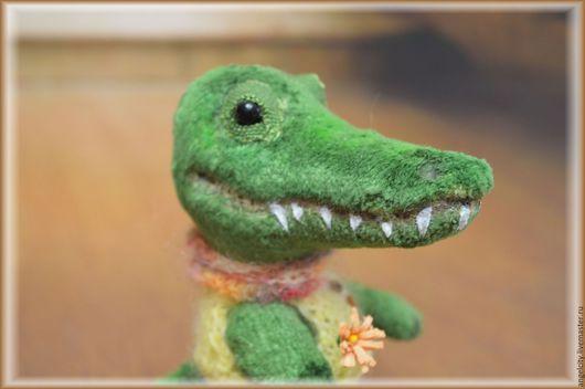 Мишки Тедди ручной работы. Ярмарка Мастеров - ручная работа. Купить Тедди крокодил. Handmade. Зеленый, друзья мишек тедди