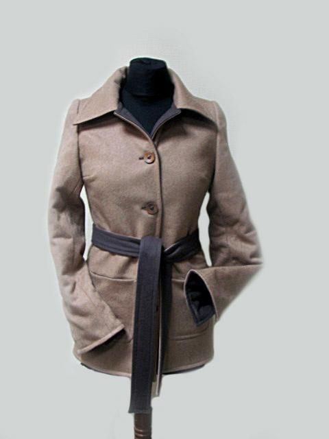 Верхняя одежда ручной работы. Ярмарка Мастеров - ручная работа. Купить Двустороннее пальто. Handmade. Пальто, демисезонное пальто
