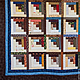 """Текстиль, ковры ручной работы. Ярмарка Мастеров - ручная работа. Купить Пэчворк покрывало №Кантри"""" №27. Handmade. Стеганое одеяло"""
