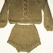 """Одежда ручной работы. Ярмарка Мастеров - ручная работа Шорты """"Манчестер"""". Handmade."""