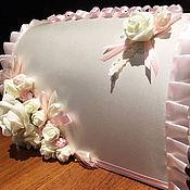 Свадебный салон ручной работы. Ярмарка Мастеров - ручная работа Свадебный сундук для денег. Handmade.