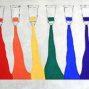 """Картины и панно ручной работы. Ярмарка Мастеров - ручная работа """"Цвет!!!"""". Handmade."""
