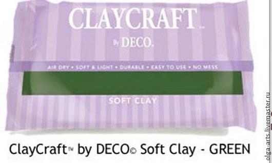 Другие виды рукоделия ручной работы. Ярмарка Мастеров - ручная работа. Купить Полимерная цветная глина Deco Clay. Handmade.