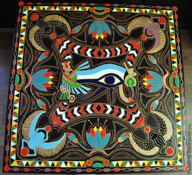 coffee table ' eye of Horus', Tables, Konakovo,  Фото №1