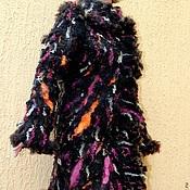 """Одежда ручной работы. Ярмарка Мастеров - ручная работа Пальто валяное """"Бельгийский шоколад"""". Handmade."""
