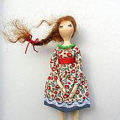 """Украшения ручной работы. Ярмарка Мастеров - ручная работа Брошка """"Куколка"""". Handmade."""