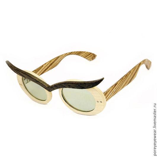 """Очки ручной работы. Ярмарка Мастеров - ручная работа. Купить Деревянные очки ручной работы """"LookPorey"""". Handmade. Очки из дерева"""