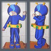 Работы для детей, ручной работы. Ярмарка Мастеров - ручная работа Карнавальный костюм: Гео (Команда Умизуми (Nick Jr). Handmade.