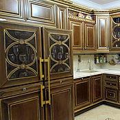 Дизайн и реклама ручной работы. Ярмарка Мастеров - ручная работа Роспись двойного холодильника. Handmade.