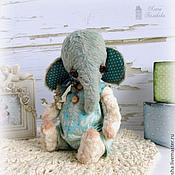 Куклы и игрушки ручной работы. Ярмарка Мастеров - ручная работа Слоник Блу. Handmade.