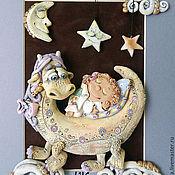 """Картины и панно ручной работы. Ярмарка Мастеров - ручная работа """"Добрые Сны"""" , Панно. Handmade."""
