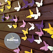 Дизайн и реклама ручной работы. Ярмарка Мастеров - ручная работа Бумажные бабочки для Кэнди бара. Handmade.