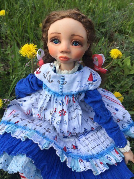 Коллекционные куклы ручной работы. Ярмарка Мастеров - ручная работа. Купить Авторская кукла ручной работы. Handmade. хлопок 100%