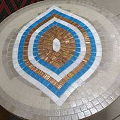 """Для дома и интерьера ручной работы. Ярмарка Мастеров - ручная работа Столешница """"Оракул"""", мозаика. Handmade."""