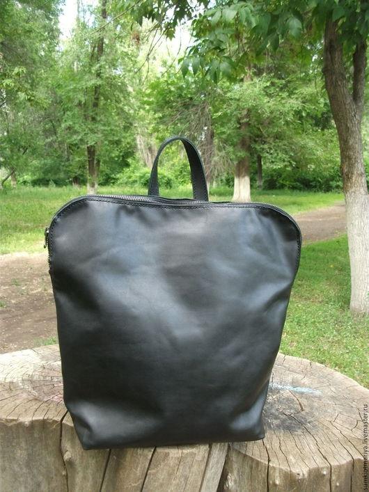 Рюкзаки ручной работы. Ярмарка Мастеров - ручная работа. Купить Сумка-рюкзак - трансформер : Все мое всегда со мной...2, черная. Handmade.