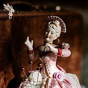 Куклы и пупсы ручной работы. Ярмарка Мастеров - ручная работа Игольница Madame Zefir. Handmade.