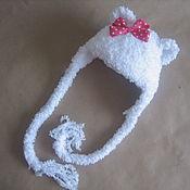 Работы для детей, ручной работы. Ярмарка Мастеров - ручная работа Шапочка Мишка с бантиком. Handmade.