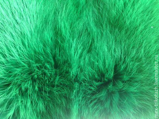 """Шитье ручной работы. Ярмарка Мастеров - ручная работа. Купить Шкурки кролика крашеные, цвет """"Лесная зелень"""". Handmade. Зеленый"""