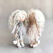 Куклы и пупсы ручной работы. Ярмарка Мастеров - ручная работа Нежный ангел  Текстильная кукла ручной работы. Handmade.
