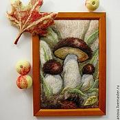 """Картины и панно ручной работы. Ярмарка Мастеров - ручная работа Картина """"Грибочки"""". Handmade."""